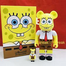 Medicom Be@rbrick 2018 Nickelodeon SpongeBob SquarePants 400% + 100% bearbrick