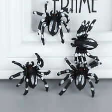 10Pcs Lifelike Simulation Spider Toy Fun Practical Jokes Prop April Fool's  TOP