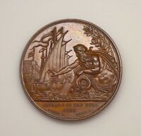 ND Great Britain - Duke of Wellington / Passage of the Duro 1809 Bronze Medal.