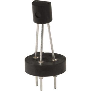 Transistor Socket, Mill Max, 3 Pin, Machine Pin, Through Hole