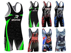Koyes Professional MEN's Wrestling Body Wear Uniform Fight Gear Singlets