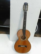 "EUROPEAN PARLOR GUITAR, 1880'S, ""PROJECT"", NICE"