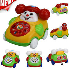 Educational Toys Cartoon Smile Phone Car Developmental Kids Girls Boys Toy Gift