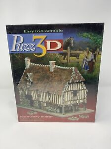 PUZZ3D NORMANDY HOUSE Puzzle NEW Sealed Tudor Style House