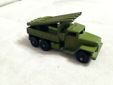 Russian soviet vintage original diecast military toy KATYUSHA rocket launcher