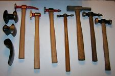 Fairmount Tools & Others 10 Pc Hammer & Dollies Auto Body Dent Repair Lot