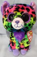 """TRIXIE the Leopard - Ty 6 """" Beanie Boos - NEW w/ MINT TAGS  Justice Exclusive"""