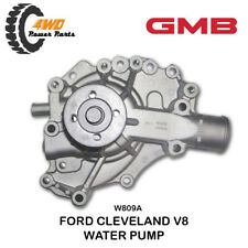 Ford Cleveland V8 GMB Alloy Water Pump 302 351 W809A