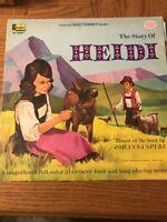 Walt Disney: The Story Of Heidi Album
