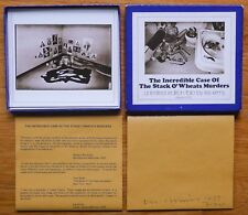 SIGNED - LES KRIMS - INCREDIBLE CASE OF THE STACK O'WHEATS MURDERS COMPLETE SET