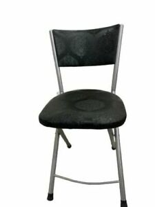Modern Folding Artificial Faux Leather Padded Chair