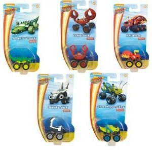 BLAZE & THE MONSTER MACHINES SMALL ANIMALS VEHICLES - CHOICE OF 5 CHARACTERS