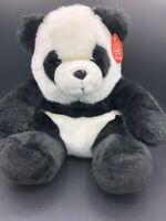 "Fiesta Panda Bear 12"" Plush Stuffed Animal Toy New with Tags"