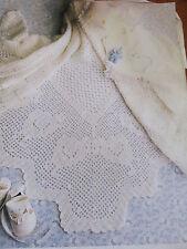 baby shawl  3 ply