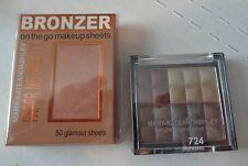 Mary Kate & Ashley Eye Shadow #724 & 50 Bronzer Sheets
