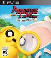 NEW Adventure Time: Finn and Jake Investigations (Sony PlayStation 3, 2015)