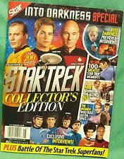 Star Trek Lot of 4 items: Calendar, magazine, pogs, Internet guide
