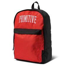 Primitive Men's Collegiate Arch Homeroom Backpack Bag Red Travel School
