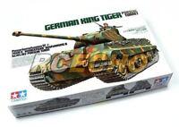 Tamiya Military Model 1/35 German King Tiger Porsche Turret Scale Hobby 35169