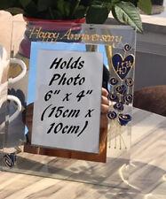 45th Wedding Anniversary Photo Frame (P) Flower