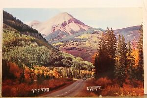 Colorado CO Durango Silverton Engineer Mountain Postcard Old Vintage Card View