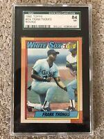 1990 Topps Frank Thomas Rookie Card Near Mint (NM)