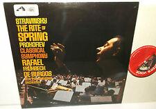 ASD 2315 Stravinsky The Rite Of Spring & Prokofiev Classical Symphony De Burgos