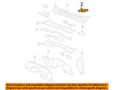 GM OEM Cowl-Grille Panel Wiper Cover Vent Right 15287178