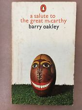 A Salute to the Great McCarthy by Barry Oakley 1971 Australian Rules Football