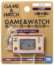 Porte-clef Nintendo Game and Watch Chef(Répliques Non Jouables)