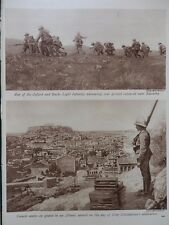 1917 OX & BUCKS LIGHT INFANTRY SALONIKA; SERBIAN CAVALRY RETAKE MONASTIR WWI WW1