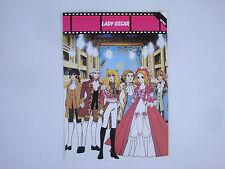 Prospectus ancien catalogue dessin animé Lady Oscar The Rose of Versailles manga