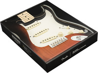 Genuine FENDER Pre-Wired TEXAS SPECIAL Loaded Strat 11-Hole PARCHMENT Pickguard