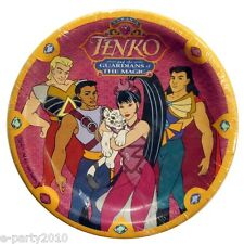 PRINCESS TENKO SMALL PAPER PLATES (8) ~ Vintage Birthday Party Supplies Cake