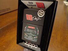 DALE EARNHARDT JR #88 AMP CAR BLACK MATTE ZIPPO LIGHTER MINT IN BOX