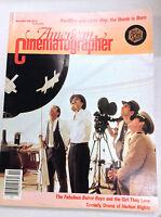 American Cinematographer Magazine Fat Man & Little Boy November 1989 040517nonr