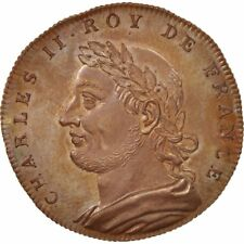 [#410171] France, Medal, Charles II, History, XIXth Century, MS(65-70), Copper