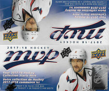 2017 2018 Upper Deck MVP NHL Hockey Sealed RETAIL Box of 36 Packs with Rookies