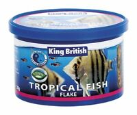 King British Complete Flake Food for all Tropical Fish 28g