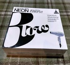 BNIB Corioliss Neon Zebra Blow Professional Hair Dryer Sale