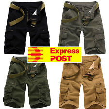 Sale!!! Men's Cargo Shorts Casual Military Combat Army Outdoor Pants size 32-38