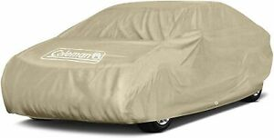 Coleman Full Car Cover Outdoor/ Indoor Waterproof Dust Heat  Cover~ SMALL NO BOX