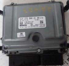2010 MERCEDES GLK350 ENGINE BRAIN COMPUTER CONTROL MODULE ECM ECU 2729002100