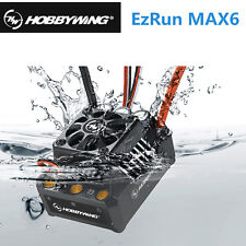 Hobbywing MAX6 V3 EZRun 160A Waterproof Brushless Controller For Traxxas - Black