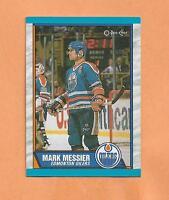 MARK MESSIER  O-PEE-CHEE 1989/1990 CARD # 65