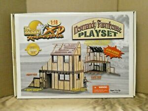 Vintage Ultimate Soldier XD WWII Normandy Farmhouse Playset w/ Figures 1/18 MIB