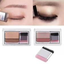 Double Color Eye Shadow Shimmer Eyeshadow Makeup Waterproof Double-layer Glitter