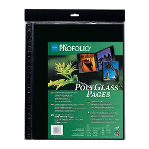 Itoya PR1319 Art Profolio Polyglass Pages Portrait Vertical 13x19 inch Portrait