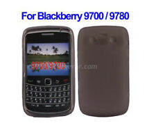 TPU gel silicone case cover grey for BlackBerry Bold 9700 9780