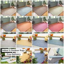 Washable Outdoor Rug | Rain Resistant Plastic Garden Rugs | Modern Area Rugs